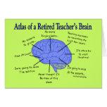Atlas of a Retired Teacher's Brain Cards