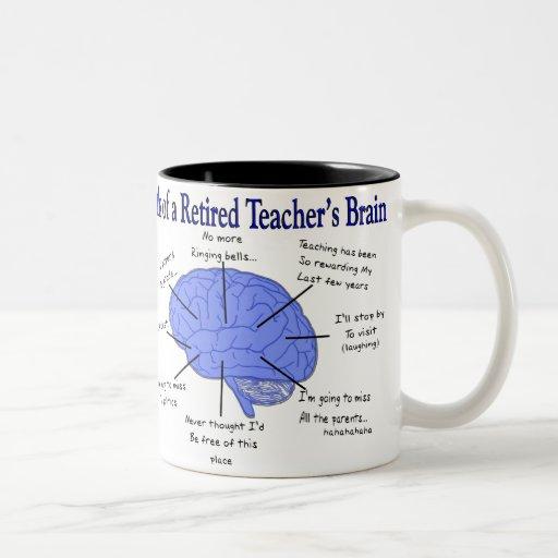 Atlas of a Retired Teacher's Brain Mug