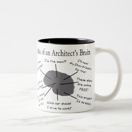 Atlas of an Architect's Brain Mug