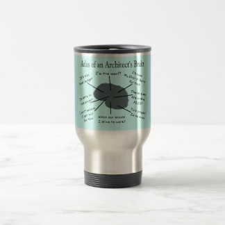 Atlas of an Architect's Brain Travel Mug