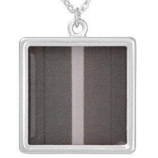 Atlas of Fresno County Silver Plated Necklace