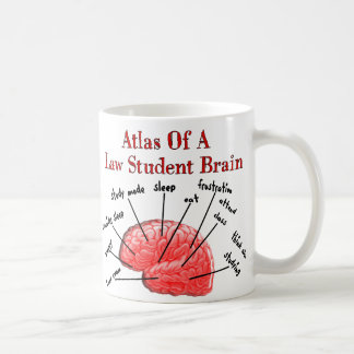 Atlas of Law Student Brain Coffee Mug