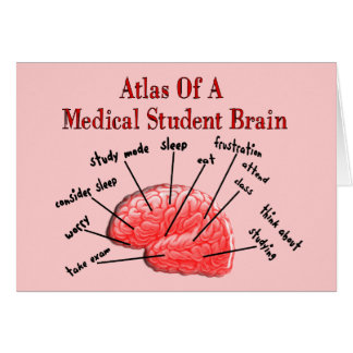 Atlas of Medical Student Brain Card
