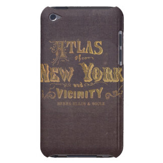 Atlas of New York vicinity iPod Case-Mate Case