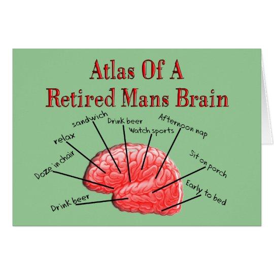 Atlas of Retired Mans Brain Card