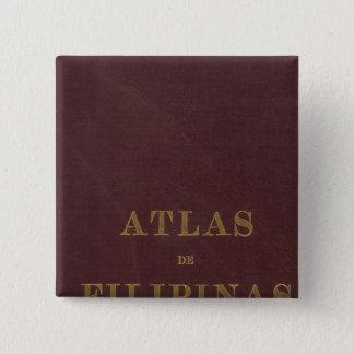 Atlas of the Philippines 15 Cm Square Badge