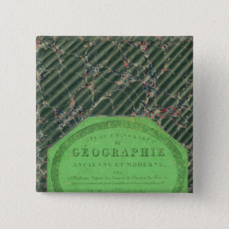 Atlas of Universal Geography 15 Cm Square Badge