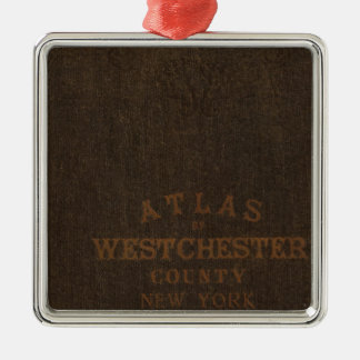 Atlas of Westchester County, NY Christmas Ornament
