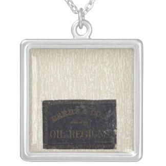 Atlas, oil regions, Pennsylvania Silver Plated Necklace
