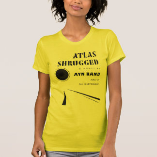Atlas Shrugged Cover T-Shirt