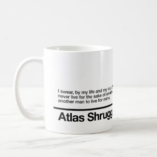 Atlas Shrugged Oath Coffee Mug