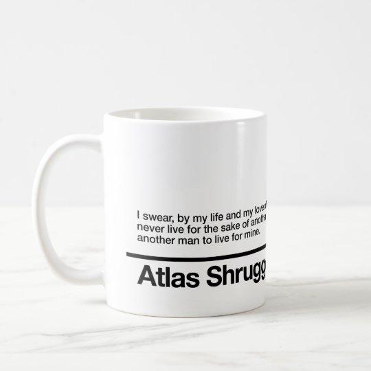 Atlas Shrugged Oath Coffee Mug