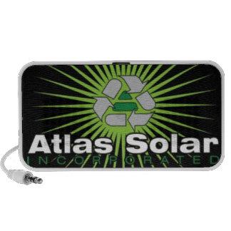 Atlas Solar Inc. iPod Speaker