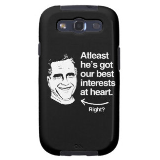 ATLEAST HE S GOT OUR BEST INTERESTS AT HEART png Samsung Galaxy SIII Cases