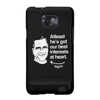 ATLEAST HE'S GOT OUR BEST INTERESTS AT HEART SAMSUNG GALAXY S2 COVER