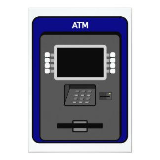 ATM Machine Invitations