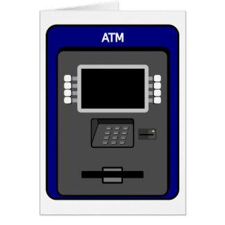 ATM Machine Note Cards