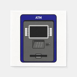 ATM Machine Paper Napkins