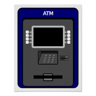 ATM Machine Poster
