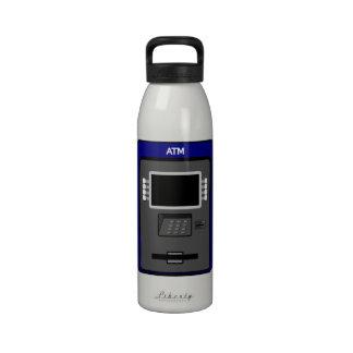 ATM Machine Water Bottle