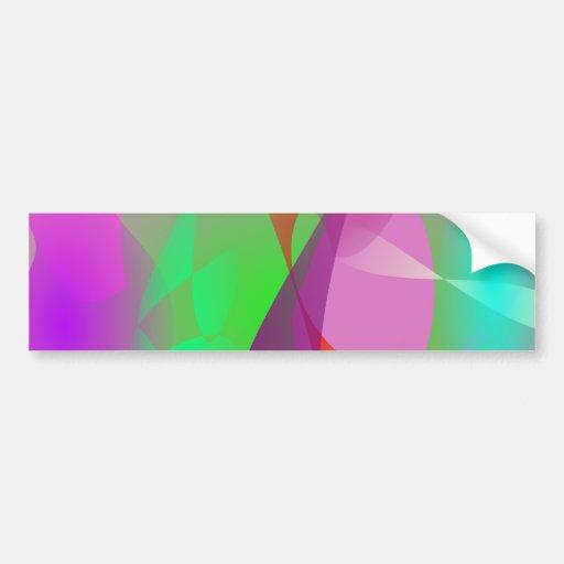 Atmosphere Art Bumper Stickers