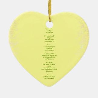 Atmosphere Ceramic Heart Decoration