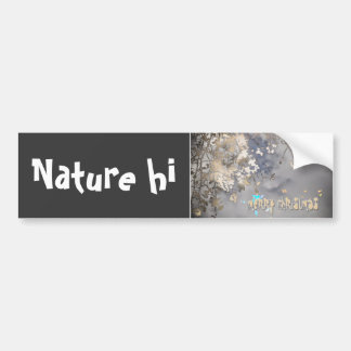 atmospheric christmas bumper stickers