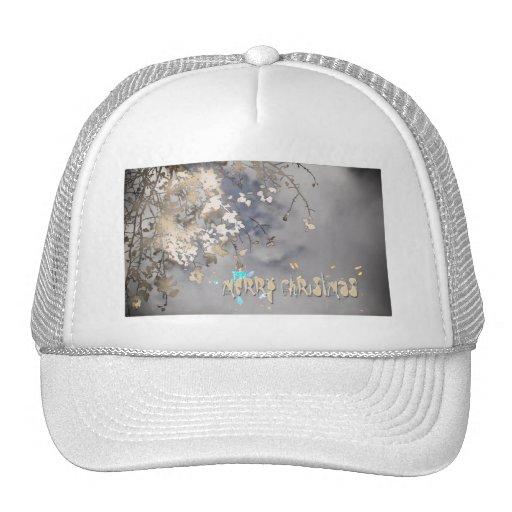 atmospheric christmas mesh hats