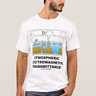 Atmospheric Electromagnetic Transmittance T-Shirt