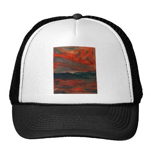Atmospheric Landscape 1 - Mood Emotion Passion Mesh Hat