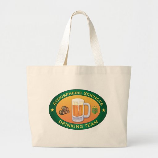 Atmospheric Sciences Drinking Team Canvas Bags