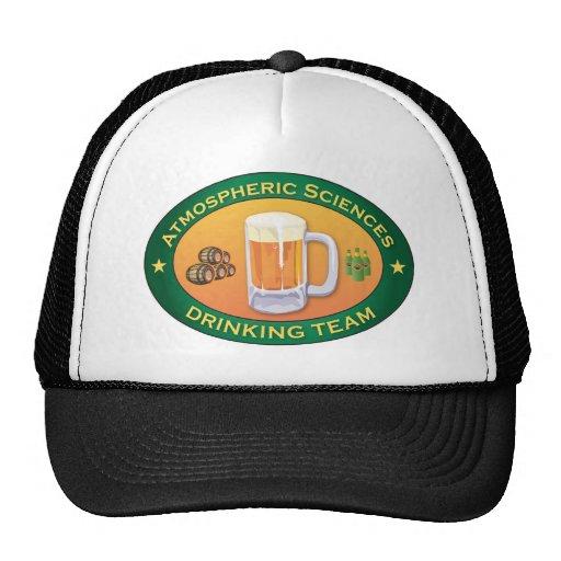 Atmospheric Sciences Drinking Team Trucker Hats