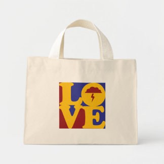 Atmospheric Sciences Love Canvas Bags
