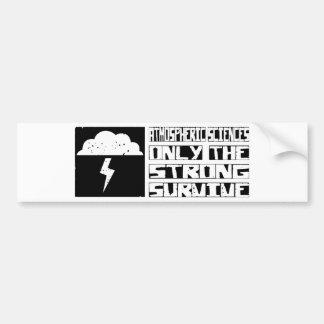 Atmospheric Sciences Survive Bumper Stickers