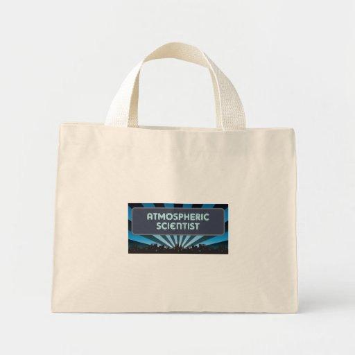 Atmospheric Scientist Marquee Canvas Bag