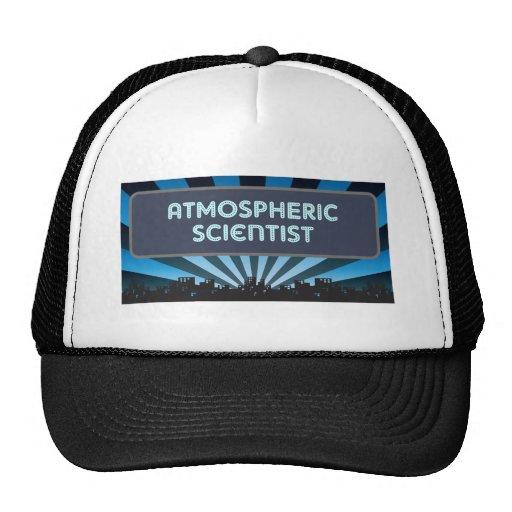 Atmospheric Scientist Marquee Trucker Hats