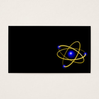 Atom atom , physics , particle , science , matter business card