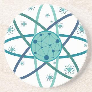 Atom Beverage Coaster
