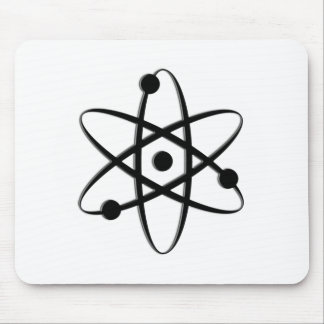 atom black mouse pads