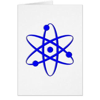 atom blue card