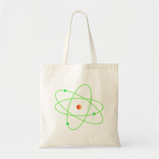 Atom Budget Tote Bag