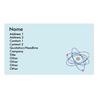 Atom - Business Pack Of Standard Business Cards