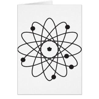 Atom Greeting Card