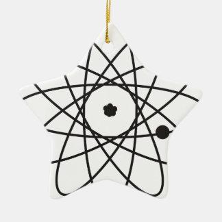 Atom Ceramic Star Decoration