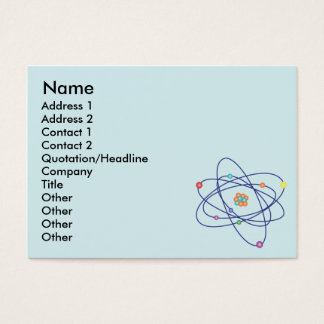 Atom - Chubby Business Card