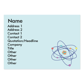 Atom - Chubby Pack Of Chubby Business Cards