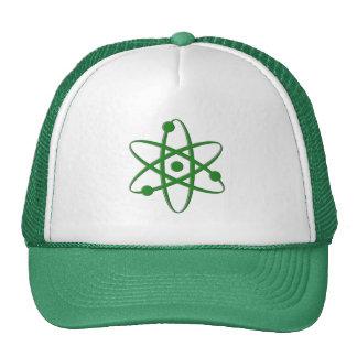 atom dark green mesh hat