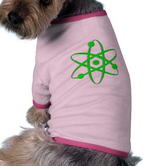 atom light green pet shirt