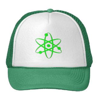 atom light green trucker hats