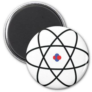 Atom Nucleus 6 Cm Round Magnet